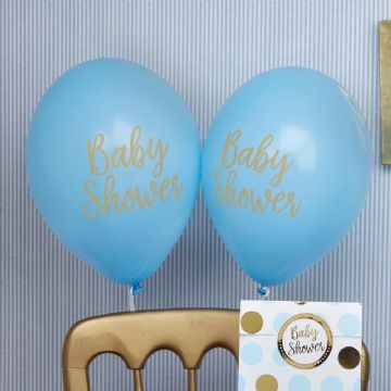 Baby Shower Blue - pack of 8